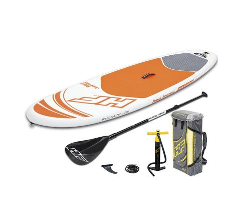 10ft Hydro Force Inflatable Stand Up Paddle Board SUP - Orange - River To Ocean Adventures