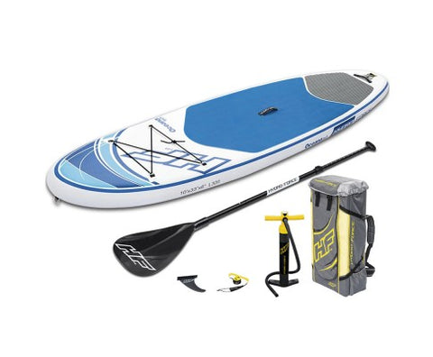 10ft Hydro Force Inflatable Stand Up Paddle Board SUP - River To Ocean Adventures
