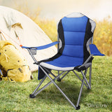 Set of 2 Portable Folding Camping Armchair - Blue - River To Ocean Adventures