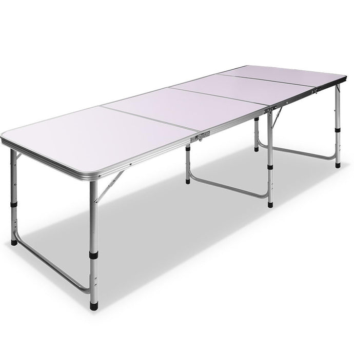 Portable Folding Camping Table 240cm - River To Ocean Adventures