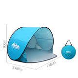 Weisshorn 3 Person Pop Up Beach Tent