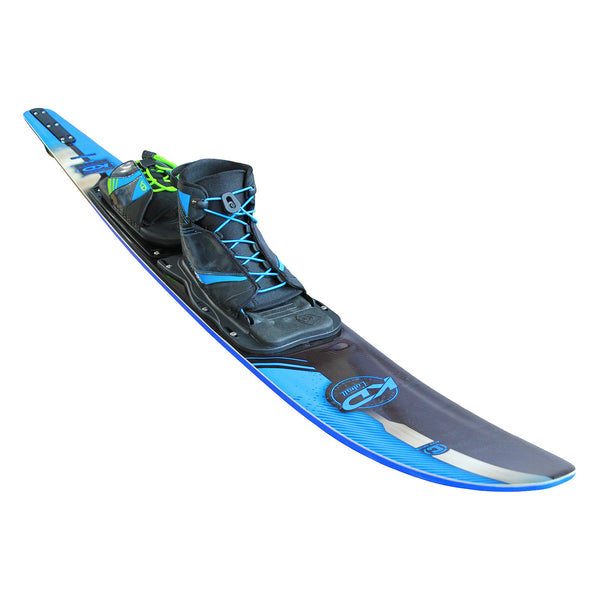 KD Cobalt Slalom Skis With Accessories