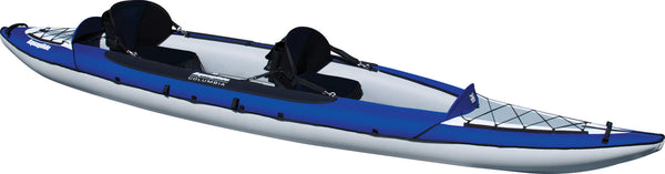 Aquaglide Columbia 2 XP - 2 Person Inflatable Kayak - River To Ocean Adventures