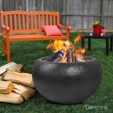 Grillz Outdoor Portable Lightweight Oval Fire Pit - River To Ocean Adventures