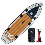 Aquaglide Blackfoot Angler Inflatable Paddleboard SUP - River To Ocean Adventures