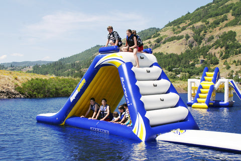 Aquaglide Freefall Extreme Inflatable Water Slide River To Ocean - 12 extreme ocean adventures