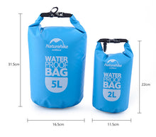 Load image into Gallery viewer, Naturehike Dry Bag 2L, 5L, 15L, 25L - River To Ocean Adventures