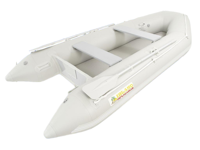 Island Inflatables Air Deck Inflatable Boat - 3.3m - River To Ocean Adventures