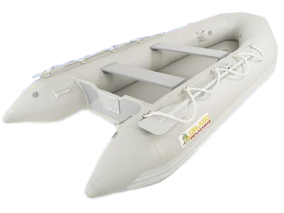 Island Inflatables Air Deck Inflatable Boat - 3.65m - River To Ocean Adventures