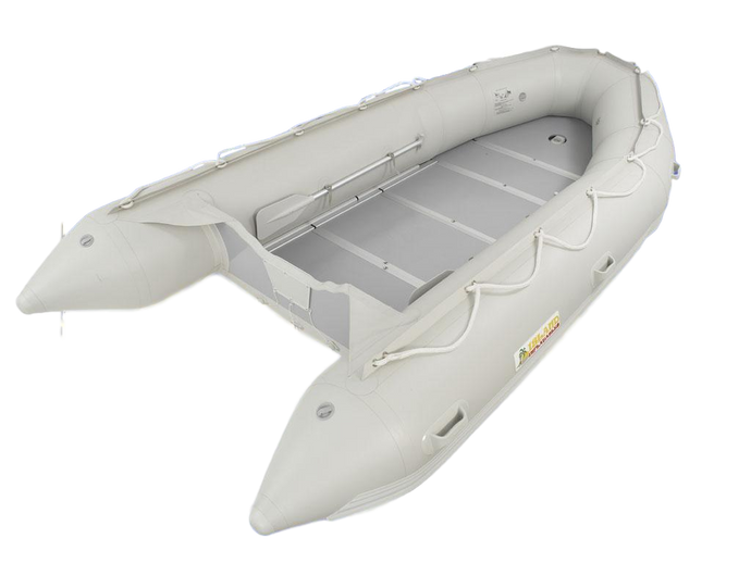 Island Inflatables Wood Floor Inflatable Boat - 4.3m - River To Ocean Adventures