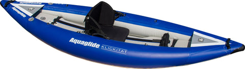 Aquaglide Klickitat HB 1 - 1 Person Inflatable Kayak - River To Ocean Adventures