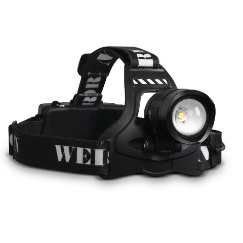 Weisshorn Set of 2 5 Modes LED Flash Torch Headlamp