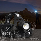 Weisshorn Set of 2 5 Modes LED Flash Torch Headlamp - River To Ocean Adventures