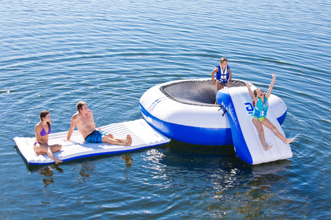 Aquaglide Malibu Inflatable Complete Aquapark - River To Ocean Adventures