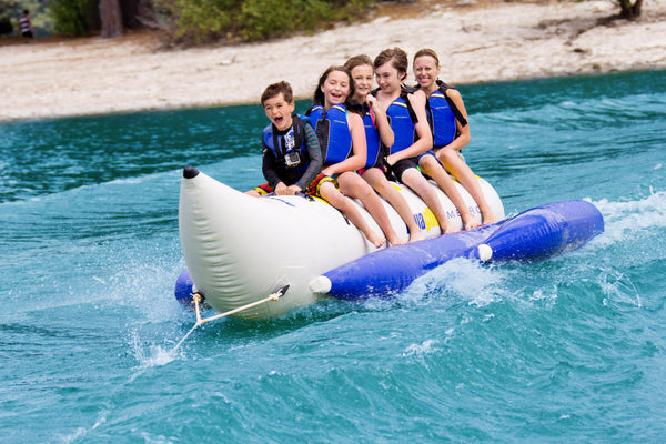 Aquaglide Metro Banana Boat - 6 Person - River To Ocean Adventures