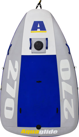 Aquaglide Multisport 270 Inflatable Sailboat Hull Only - River To Ocean Adventures