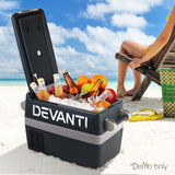 Devanti 45L Portable Fridge Freezer Cooler Caravan Camping - River To Ocean Adventures