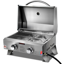 Load image into Gallery viewer, Grillz Portable 2 Burner Gas BBQ - River To Ocean Adventures