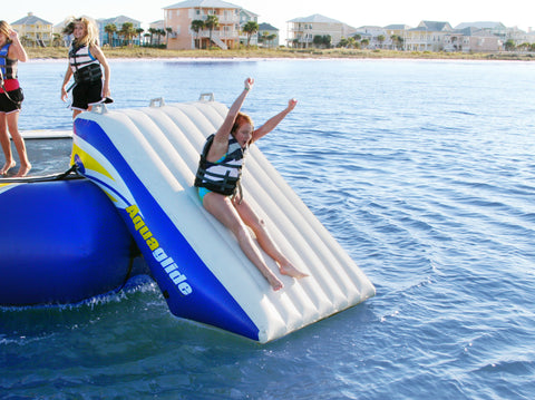 Aquaglide Plunge Slide - River To Ocean Adventures