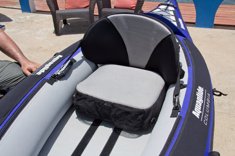 Aquaglide Pro-Formance Inflatable Kayak Seat - River To Ocean Adventures