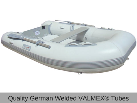 West Splash Air Deck Inflatable Welded Boat 250 - River To Ocean Adventures
