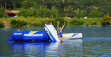 Load image into Gallery viewer, Aquaglide Rebound Aquapark - Swimstep, Slide & I-Log - 3 sizes - River To Ocean Adventures