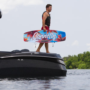 Connelly Steel Wakeboard With Draft Boots