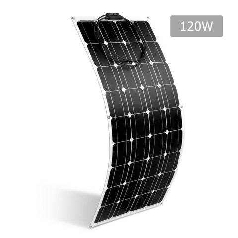 Solraiser 120W Water Proof Flexible Solar Panel