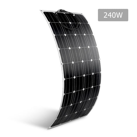 Solraiser 240W Water Proof Flexible Solar Panel - River To Ocean Adventures