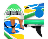 Weisshorn 10ft Inflatable Stand Up Paddle Board SUP- Green - River To Ocean Adventures