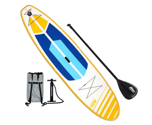 Weisshorn 11ft Inflatable Stand Up Paddle Board SUP - Yellow - River To Ocean Adventures