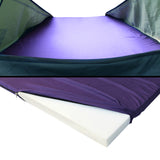 Weisshorn King Single Swag Camping Swag Canvas Tent - Celadon - River To Ocean Adventures