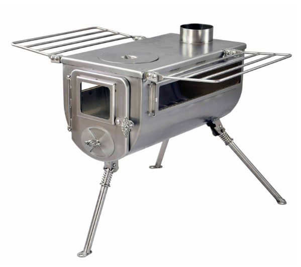 Winnerwell Woodlander Double View 1G M-sized Cook Camping Stove