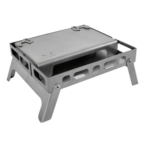 Winnerwell Backpack Stove Table-board+Bottom tray - Titanium