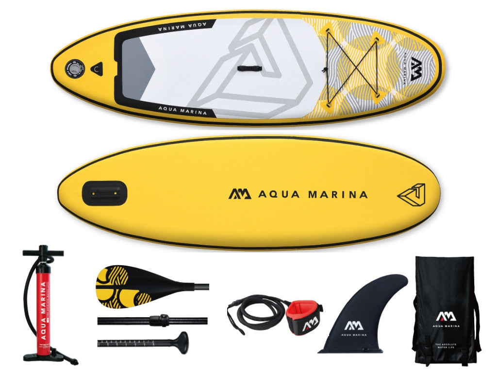 NEW 2019 Aqua Marina Vibrant Inflatable Paddleboard SUP -Youth - River To Ocean Adventures