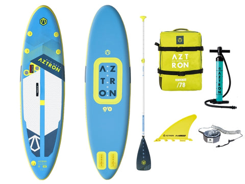 Aztron Neo Nova 9' Compact Inflatable SUP Paddle Board