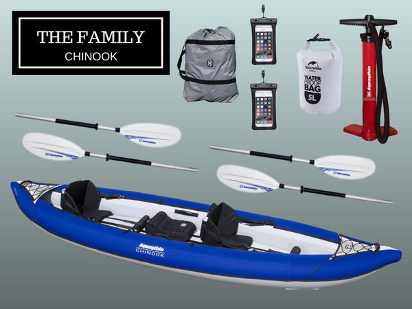 The Family - Chinook Tandem Package - River To Ocean Adventures