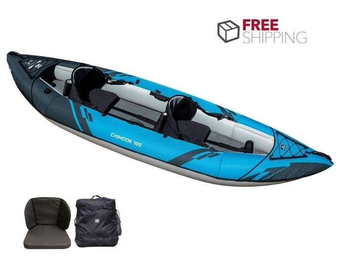 Aquaglide Chinook 100 XP 2- 2 Person Inflatable Kayak 2021