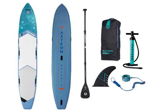 Aztron Galaxie 16ft Inflatable SUP Paddle Board - River To Ocean Adventures