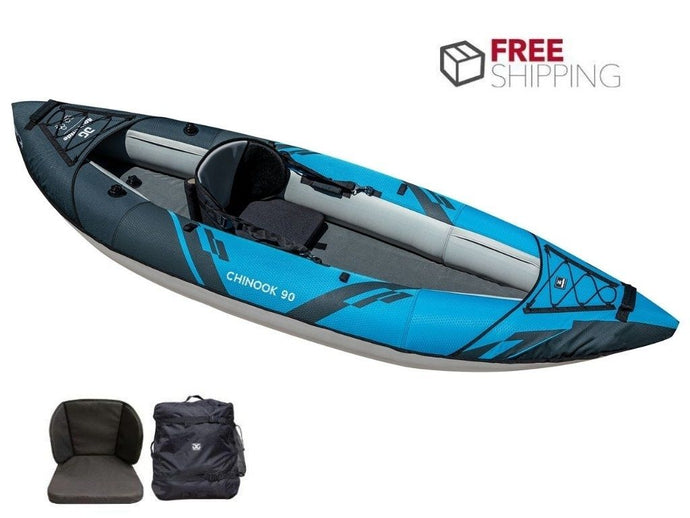 Aquaglide Chinook 90 XP 1 - 1 Person Inflatable Kayak 2021