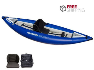 Aquaglide Klickitat HB 1 - 1 Person Inflatable Kayak