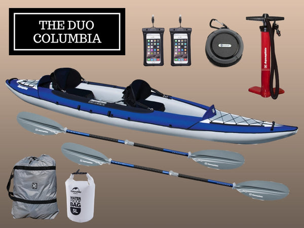 The Aquaglide Duo Columbia Package - River To Ocean Adventures