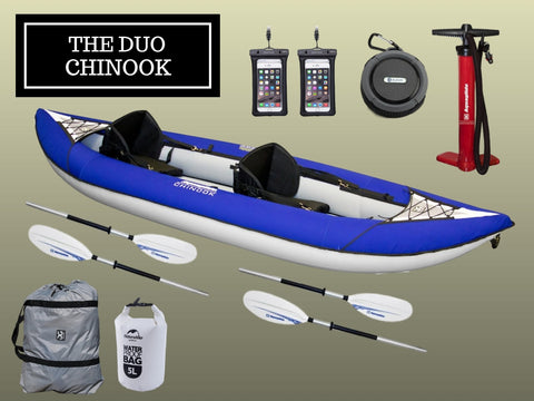 The Aquaglide Duo Chinook Package - River To Ocean Adventures