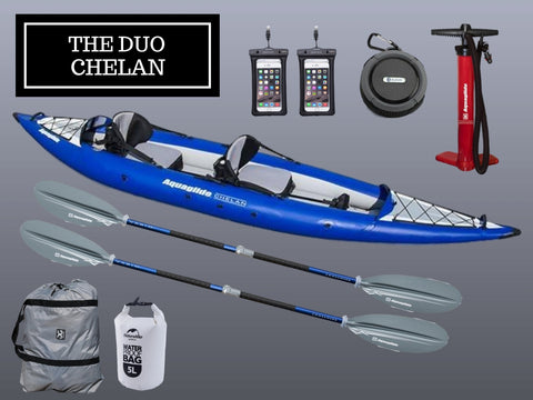 The Aquaglide Duo Chelan Package - River To Ocean Adventures