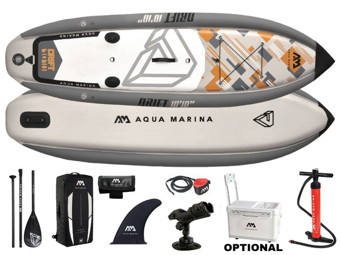 Aqua Marina Drift Inflatable Fishing Paddleboard SUP NEW 2020
