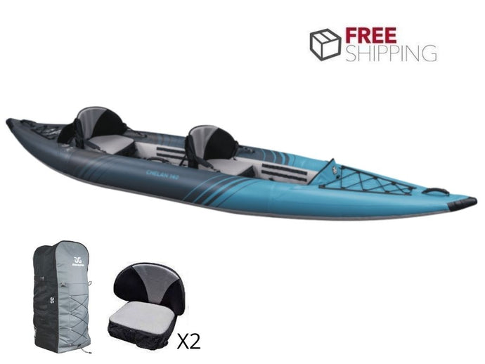 Aquaglide Chelan 140 DS - 2 Person Inflatable Kayak NEW 2021