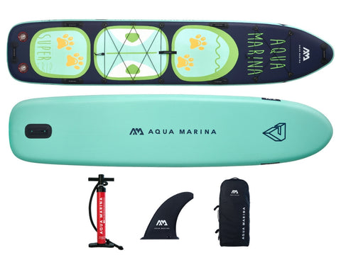 Aqua Marina Super Trip Tandem 14' Inflatable SUP Paddleboard NEW 2020