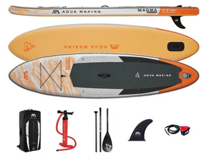 "Aqua Marina Magma Inflatable Paddleboard SUP 11'2"" NEW 2021"