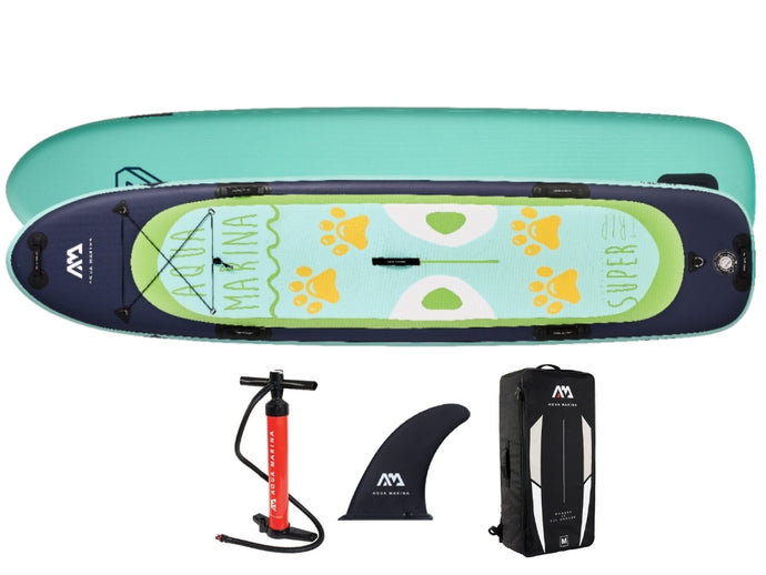Aqua Marina Super Trip 12'2 Inflatable Family SUP Paddleboard NEW 2021