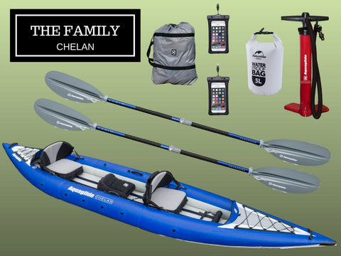 The Family - Chelan Tandem Package - River To Ocean Adventures